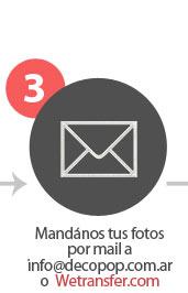 Manda tus fotos por mail