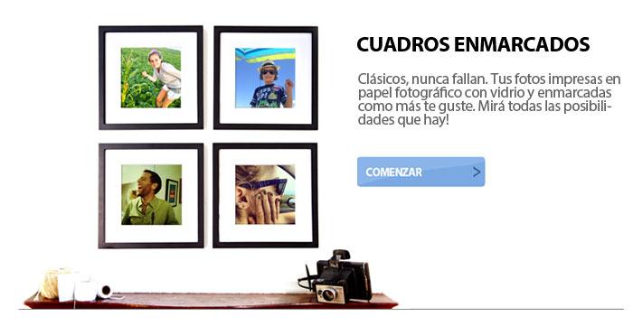 CUADROS ENMARCADOS CON TUS FOTOS