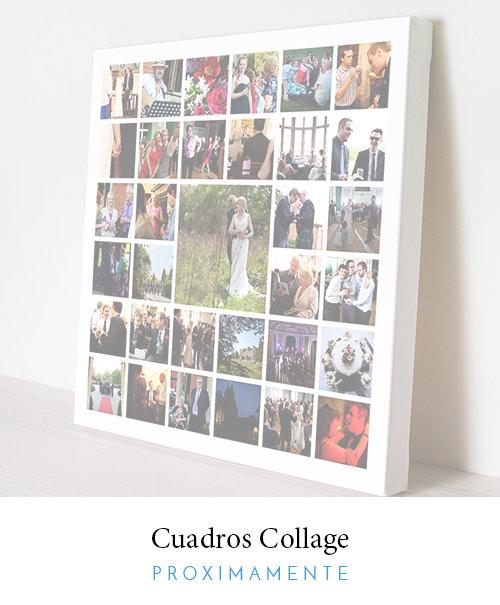 Decopop foto cuadros de lienzo enmarcados con tus fotos for Collage de cuadros