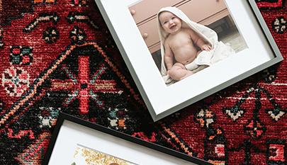 Decopop foto cuadros de lienzo enmarcados con tus fotos - Cuadros con fotos familiares ...